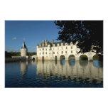Castillo francés de Chenonceau, río Cher, Loir-et- Cojinete