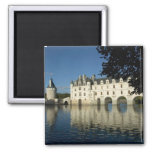 Castillo francés de Chenonceau, río Cher, Loir-et- Imán Cuadrado
