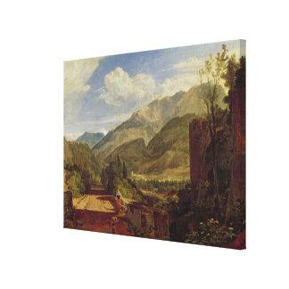 Castillo francés de San Miguel, Bonneville, col ri Lona Envuelta Para Galerías