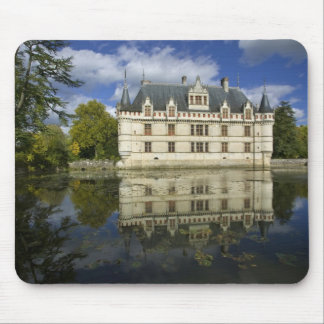 Castillo francés del Azay-le-Rideau, Indre-et-Loir Alfombrilla De Ratones