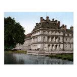 Castillo francés Fontainebleau Postal