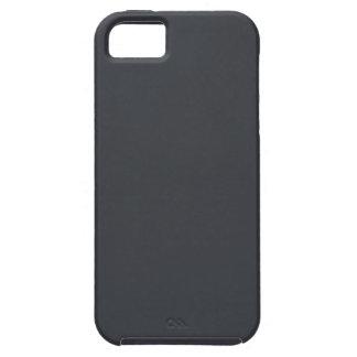 Castillo francés francés gris oscuro del carbón de iPhone 5 funda