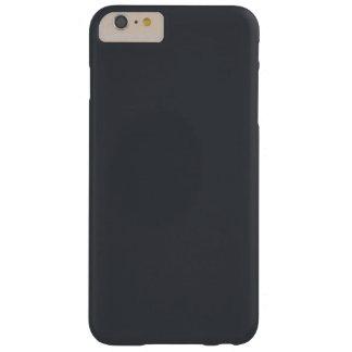 Castillo francés francés gris oscuro del carbón de funda para iPhone 6 plus barely there