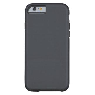 Castillo francés francés gris oscuro del carbón de funda para iPhone 6 tough