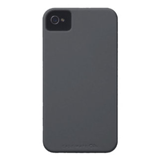 Castillo francés francés gris oscuro del carbón de Case-Mate iPhone 4 protectores