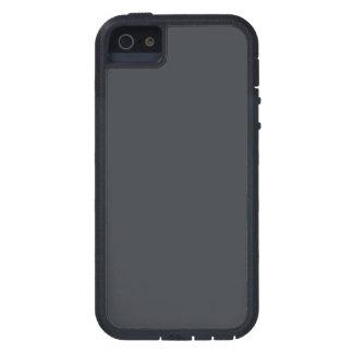 Castillo francés francés gris oscuro del carbón de funda para iPhone 5 tough xtreme