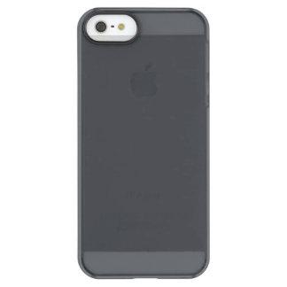 Castillo francés francés gris oscuro del carbón de funda permafrost™ deflector para iPhone 5 de uncom