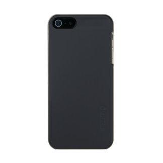 Castillo francés francés gris oscuro del carbón de funda para iPhone 5 incipio feather shine