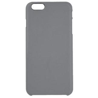 Castillo francés francés gris oscuro del carbón de funda clearly™ deflector para iPhone 6 plus de unc