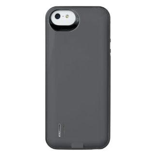 Castillo francés francés gris oscuro del carbón de funda power gallery™ para iPhone 5 de uncommon