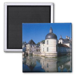 Castillo francés Tanlay, Tanlay, Borgoña, Francia Imán Cuadrado