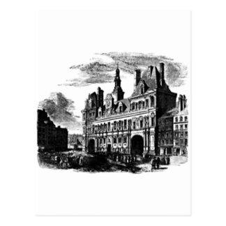 castillo frecuentado tarjetas postales