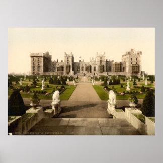 Castillo I, Berkshire, Inglaterra de Windsor Posters