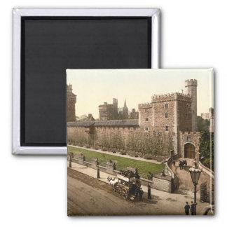 Castillo I, Cardiff, País de Gales de Cardiff Imán Cuadrado