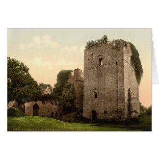 Castillo I, Herefordshire, Inglaterra de Goodrich Tarjetón