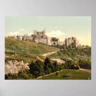 Castillo I, Kent, Inglaterra de Dover Posters