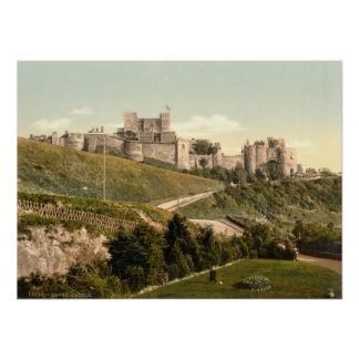 Castillo I, Kent, Inglaterra de Dover Póster