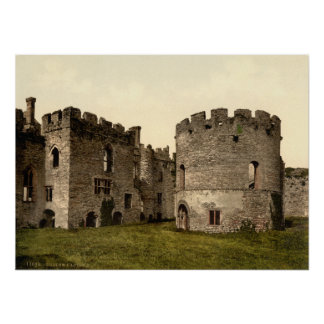 Castillo I, Shropshire, Inglaterra de Ludlow Póster