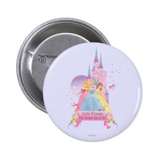 Castillo ideal de la princesa el | de Disney Pin Redondo De 2 Pulgadas
