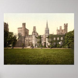 Castillo II, Cardiff, País de Gales de Cardiff Impresiones
