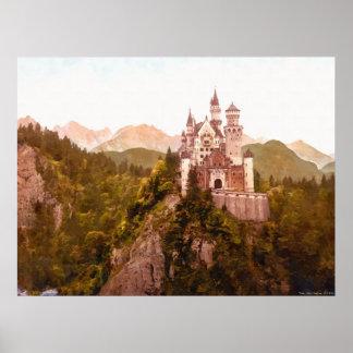 Castillo II de Neuschwanstein Posters