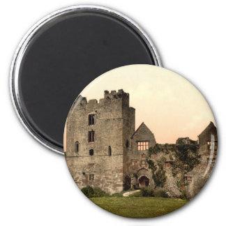Castillo II, Shropshire, Inglaterra de Ludlow Imán Redondo 5 Cm
