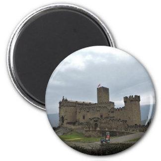 Castillo Imán Redondo 5 Cm