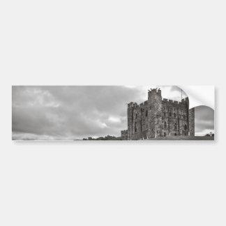 Castillo Inglaterra de Bamburgh Pegatina Para Auto
