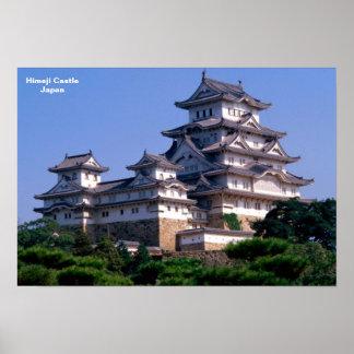 Castillo Japón de Himeji Póster