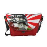 Castillo japonés bolsas de mensajería