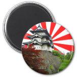 Castillo japonés imán para frigorifico