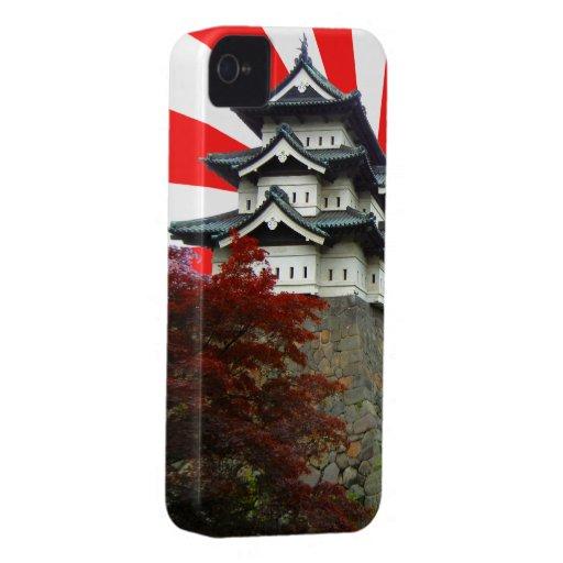 Castillo japonés iPhone 4 protectores