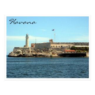 castillo La Habana del morro Postales