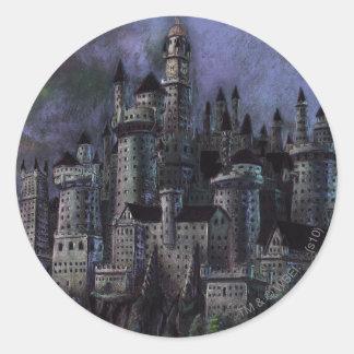 Castillo magnífico de Hogwarts Pegatinas
