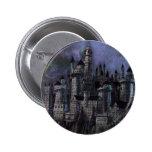 Castillo magnífico de Hogwarts Pin Redondo 5 Cm