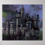 Castillo magnífico de Hogwarts Póster