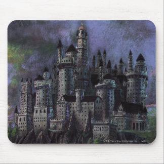 Castillo magnífico de Hogwarts Tapete De Raton