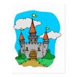 Castillo medieval postal