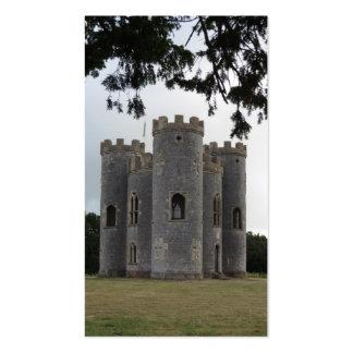 Castillo medieval tarjetas de visita