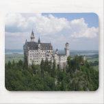 Castillo Mousepad de Neuschwanstein Tapetes De Ratón