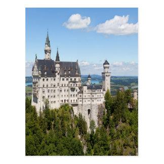 Castillo Neuschwanstein en el alemán de Baviera de Tarjetas Postales