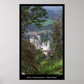 Castillo Neuschwanstein Póster