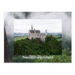 Castillo Neuschwanstein Tarjeta Postal
