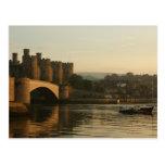 Castillo País de Gales del norte de Conwy Tarjeta Postal