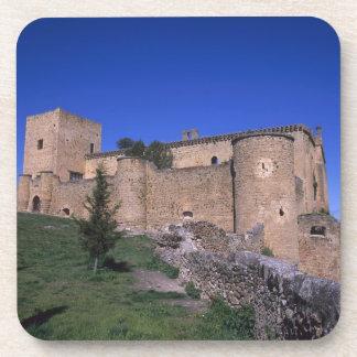 Castillo Pedraza Castile León España Posavasos De Bebida