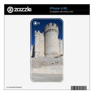Castillo Penafiel, contains Wine Museum Decal For iPhone 4
