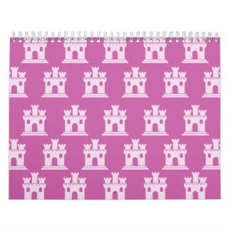 Castillo Pink.ai magenta Calendarios
