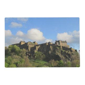 Castillo Placemat de Edimburgo Salvamanteles