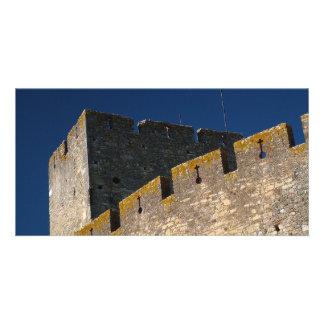 Castillo portugués tarjetas personales