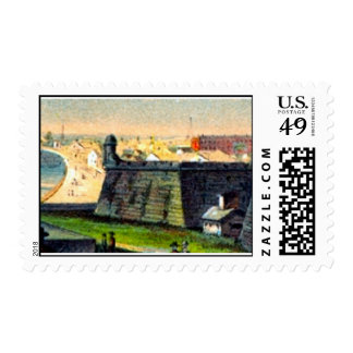 Castillo Postage Stamp